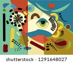 abstract  colorful background ... | Shutterstock .eps vector #1291648027