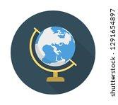 globe  earth   world  | Shutterstock .eps vector #1291654897