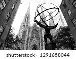 new york  usa   june 8  2018 ...   Shutterstock . vector #1291658044