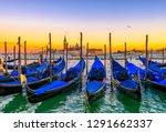 sunrise in san marco square ...   Shutterstock . vector #1291662337