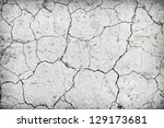 Background Of Dry Cracked Soil...
