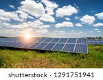 solar panel  photovoltaic ... | Shutterstock . vector #1291751941
