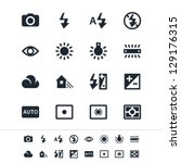 photography icons | Shutterstock .eps vector #129176315