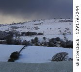 Winter Landscape  Snow Clouds ...