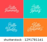 spring  summer  autumn and... | Shutterstock .eps vector #1291781161