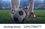 photo of a soccer player ... | Shutterstock . vector #1291798477