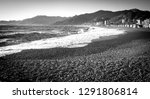 Panorama Of The Beach Of...