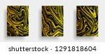 mixture of acrylic paints.... | Shutterstock .eps vector #1291818604