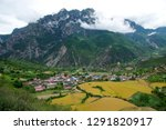 high altitude villages and... | Shutterstock . vector #1291820917