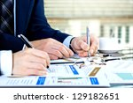 accounting. | Shutterstock . vector #129182651