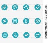 web icons vector | Shutterstock .eps vector #129185201