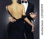 conceptual photo of sexy... | Shutterstock . vector #129185459