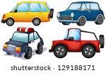 illustration of the four... | Shutterstock .eps vector #129188171