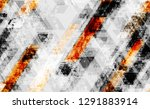 seamless grunge tech geometric... | Shutterstock .eps vector #1291883914