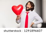 young crazy man valentine s day ...   Shutterstock . vector #1291896607