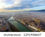 aerial. panorama of the city of ... | Shutterstock . vector #1291908607