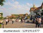 bangkok   jan 18 2019 at temple ... | Shutterstock . vector #1291911577