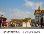bangkok   jan 18 2019 at temple ... | Shutterstock . vector #1291914691