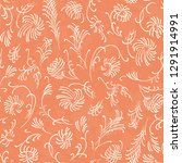 seamless pattern with thin... | Shutterstock .eps vector #1291914991