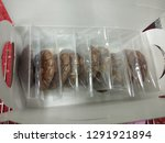 crinkle brownie cookies with... | Shutterstock . vector #1291921894