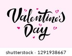 valentine s day hand drawn for... | Shutterstock .eps vector #1291938667