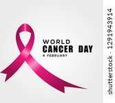 world cancer day vector design | Shutterstock .eps vector #1291943914