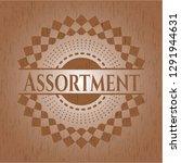 assortment realistic wooden... | Shutterstock .eps vector #1291944631
