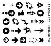 illustration of color arrow...   Shutterstock . vector #1291950511