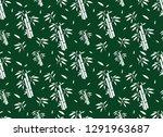 green bamboo pattern  nature...   Shutterstock .eps vector #1291963687