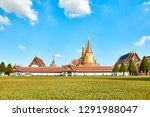 grand palace and wat phra keaw...   Shutterstock . vector #1291988047