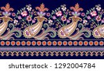 seamless contrast border in... | Shutterstock .eps vector #1292004784