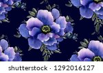 seamless pattern with... | Shutterstock . vector #1292016127