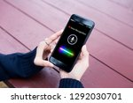 voice recognition search... | Shutterstock . vector #1292030701