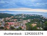 cityscape of palma de mallorca  ... | Shutterstock . vector #1292031574