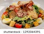delicious fresh and delicious... | Shutterstock . vector #1292064391