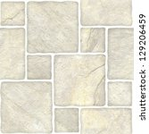 beige marble stone mosaic... | Shutterstock . vector #129206459