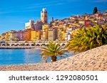 Colorful Cote D Azur Town Of...