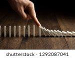 creative background  men's hand ... | Shutterstock . vector #1292087041