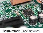 computer circuit board...   Shutterstock . vector #1292092324