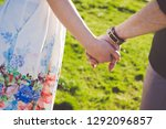 outdoor photo  sweethearts... | Shutterstock . vector #1292096857