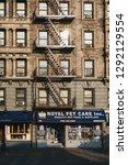 new york  usa   june 01  2018 ... | Shutterstock . vector #1292129554