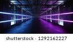 futuristic sci fi alien ship... | Shutterstock . vector #1292162227