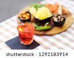 italian aperitives aperitif ...   Shutterstock . vector #1292183914