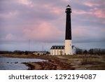 amazing dusk view of sorve... | Shutterstock . vector #1292194087