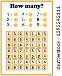 worksheet . mathematics task....   Shutterstock .eps vector #1292242111