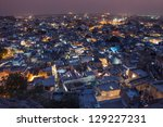 Sundown Over Jodhpur City In...