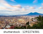 napoli  naples  and mount... | Shutterstock . vector #1292276581
