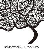 tree vector illustration | Shutterstock .eps vector #129228497
