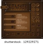 Leather Infographic Elements....