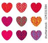 Nine Hearts On A Postcard To...